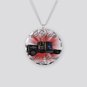 Pride In Ride 1 Necklace Circle Charm