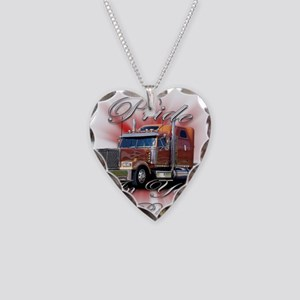 Pride In Ride 2 Necklace Heart Charm