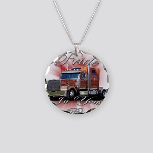 Pride In Ride 2 Necklace Circle Charm