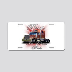 Pride In Ride 2 Aluminum License Plate