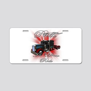 Pride In Ride 3 Aluminum License Plate
