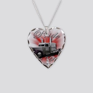 Pride In Ride 4 Necklace Heart Charm