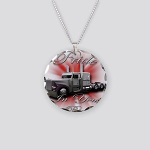 Pride In Ride 4 Necklace Circle Charm