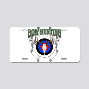 Bow Hunting Aluminum License Plate