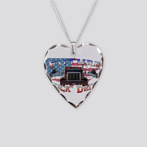 Future Driver Necklace Heart Charm