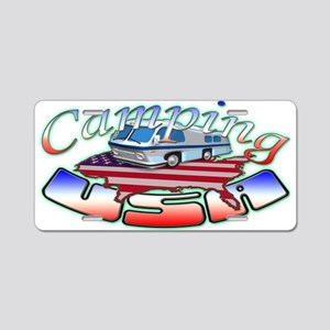 Rv Camping Aluminum License Plate