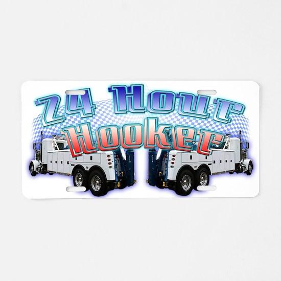 24 Hour Heavy Duty Aluminum License Plate