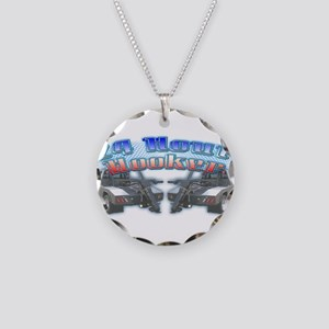 24 Hour Wrecker Necklace Circle Charm