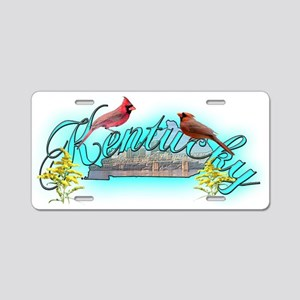 Kentucky Aluminum License Plate