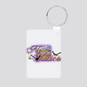 New Mexico Aluminum Photo Keychain