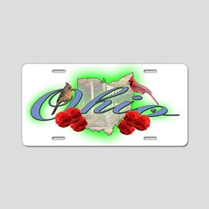 Ohio Aluminum License Plate