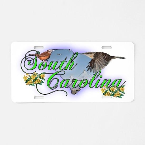 South Carolina Aluminum License Plate