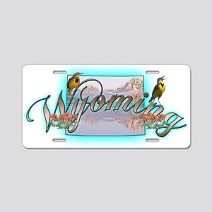 Wyoming Aluminum License Plate