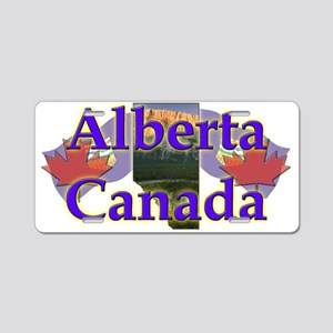 Alberta Aluminum License Plate