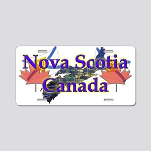Nova Scotia Aluminum License Plate