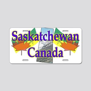 Saskatchewan Aluminum License Plate