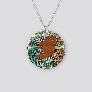 Clare Necklace Circle Charm