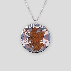 Argyll Necklace Circle Charm