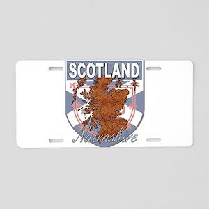 Nairnshire Aluminum License Plate