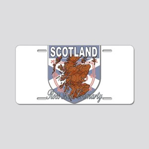 Ross And Cromarty Aluminum License Plate