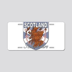 Selkirkshire Aluminum License Plate