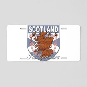 Stirlingshire Aluminum License Plate