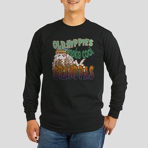 ROCK N ROLL GRANDPA Long Sleeve Dark T-Shirt