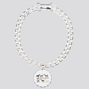ALL Dairy Does Charm Bracelet, One Charm