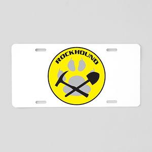 Rockhound Aluminum License Plate