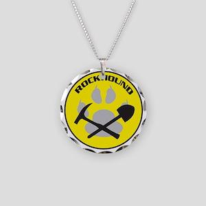 Rockhound Necklace Circle Charm