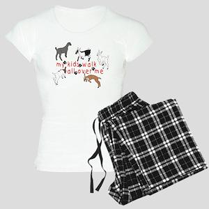 my kids walk... Women's Light Pajamas