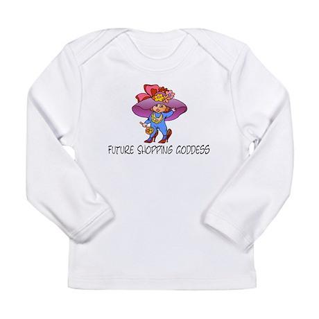 Future shopping goddess Long Sleeve Infant T-Shirt