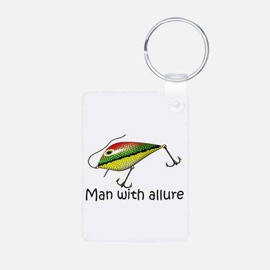 Man With Allure Keychains