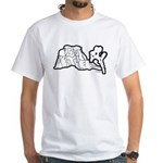Joshua Tree and Intersection White T-Shirt