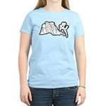 Joshua Tree and Intersection Women's Light T-Shirt