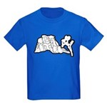 Joshua Trees and Intersection Kids Dark T-Shirt