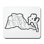 Joshua Trees and Intersection Mousepad