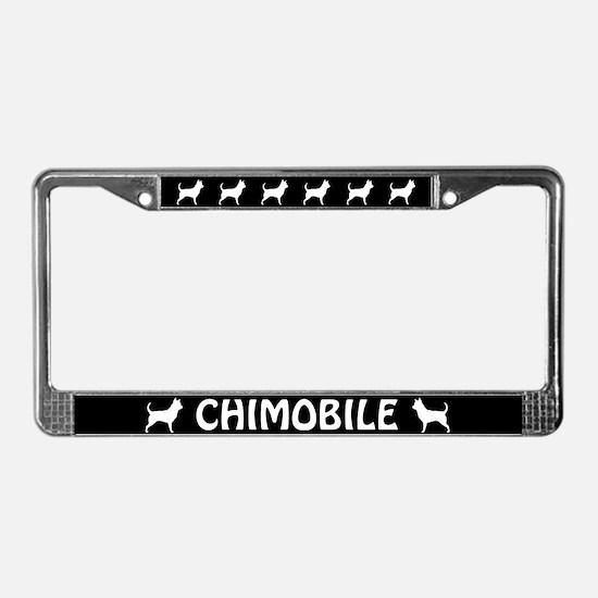 CHIMOBILE (Chihuahua) License Plate Frame