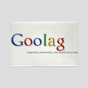 Goolag, Exporting Censorship, Rectangle Magnet