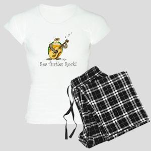 Sea Turtles Rock Women's Light Pajamas