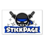 Stick Page Logo Sticker