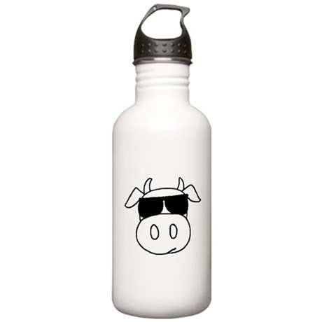 Cowtownmusic cow head Stainless Water Bottle 1.0L