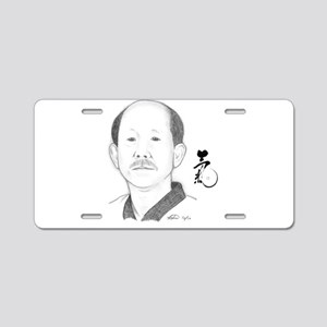 """Kwan Jang Nim """"Ki"""" Aluminum License Plate"""