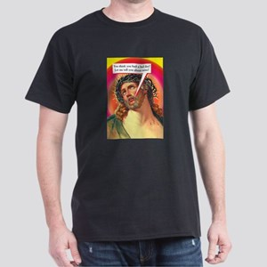 "Talk Bubbles: ""Bad Day Jesus"" Black T-Shirt"