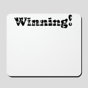Vintage Winning! Mousepad