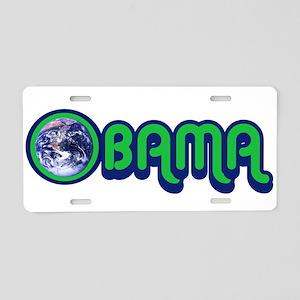 Obama World Aluminum License Plate