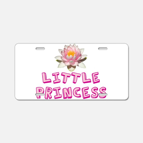 Little Princess Aluminum License Plate