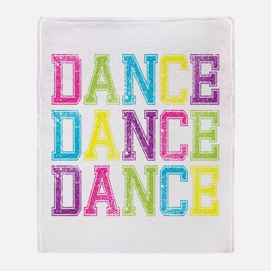 Jazz dance Throw Blanket