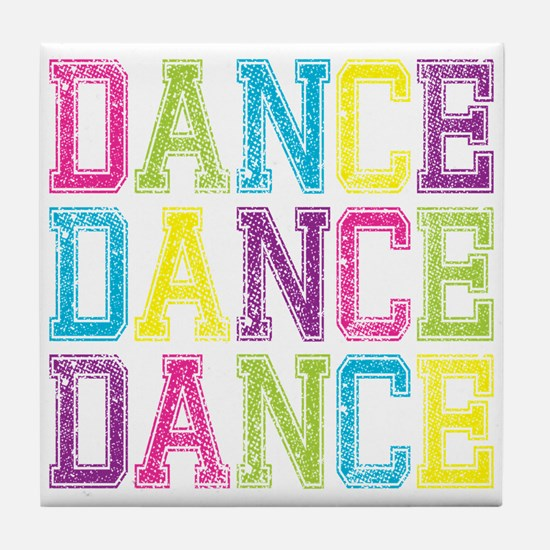 Cute Jazz dance Tile Coaster