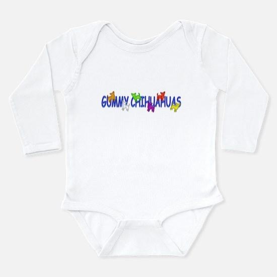 Chihuahua Long Sleeve Infant Bodysuit